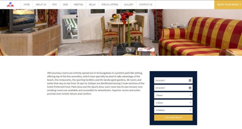 Maritim Jolie Ville Resort & Casino - Inner Page
